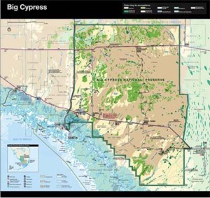 Big Cypress Preserve Map